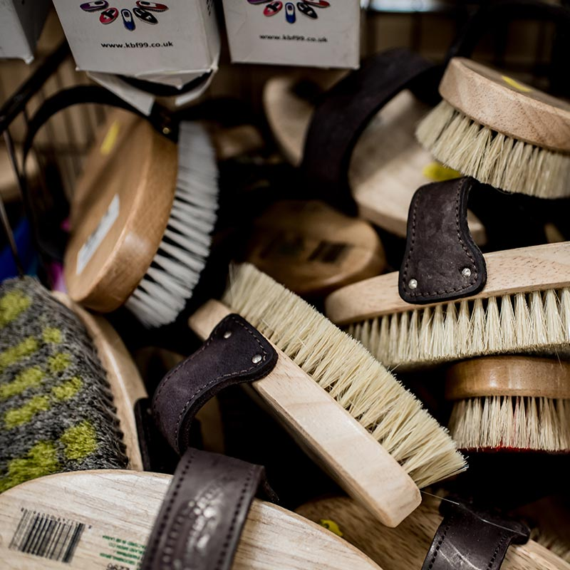 Walker's Farm boot brushes