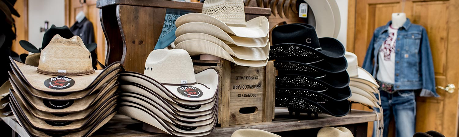 Walker's Farm cowboy hats